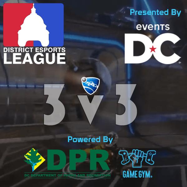 Distict Esports League Rocket League 3v3