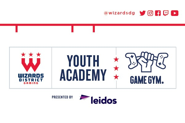 Game Gym Annouces Partnership With The Washinton Wizards
