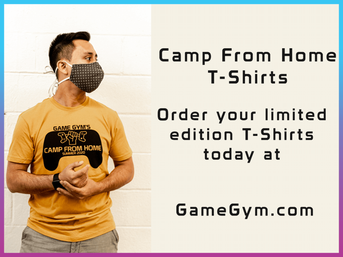 2020 Camp From Home T-Shirt
