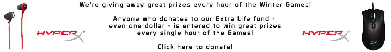 Extra Life - Donate